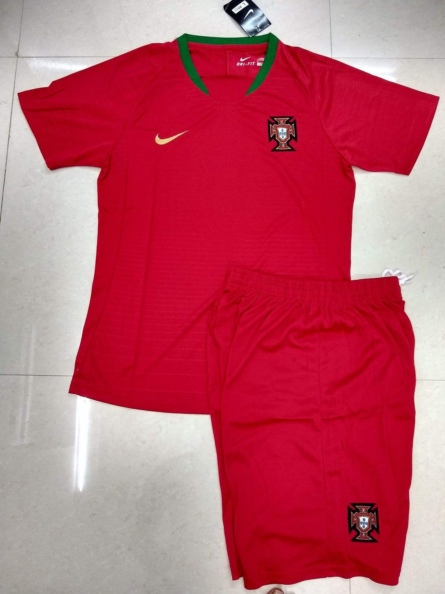 d1e2bbce873 Portugal Football Jersey FIFA World Cup 2018 replica kit online ...