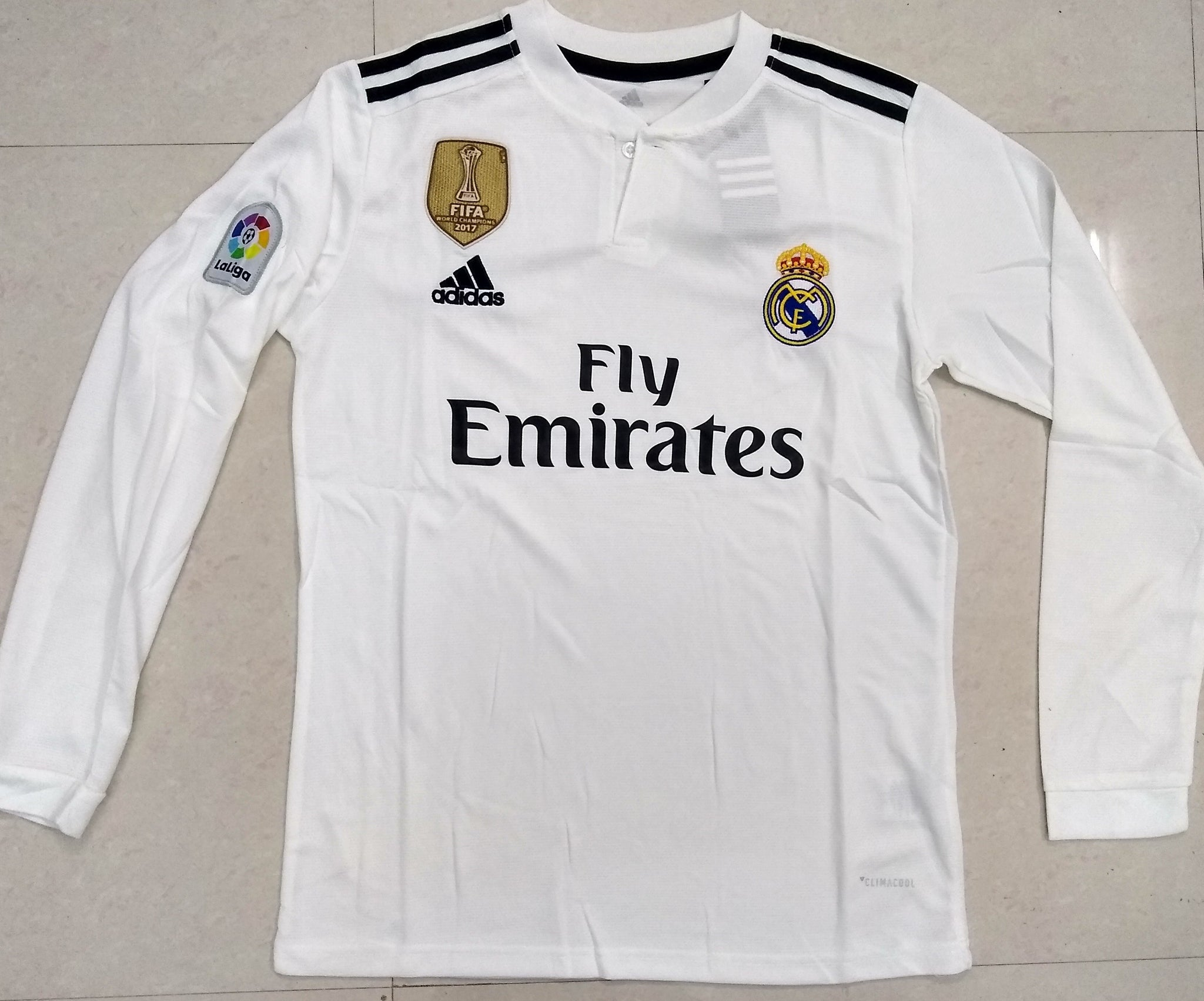 wholesale dealer e8c2a 235db Real Madrid Home Football Jersey New Season 2018-19 kit ...