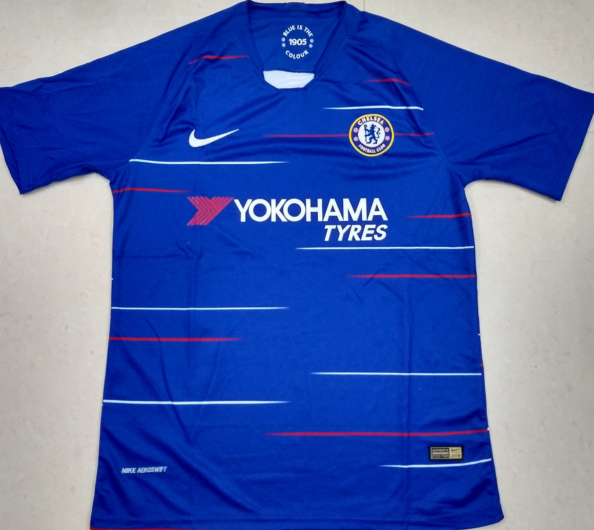 finest selection 86778 8ed4e Original Chelsea Home Jersey 2018-19 [Superior Quality]