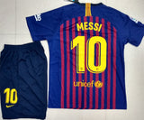 Original Messi Barcelona Premium Home Jersey & Shorts 2018-19