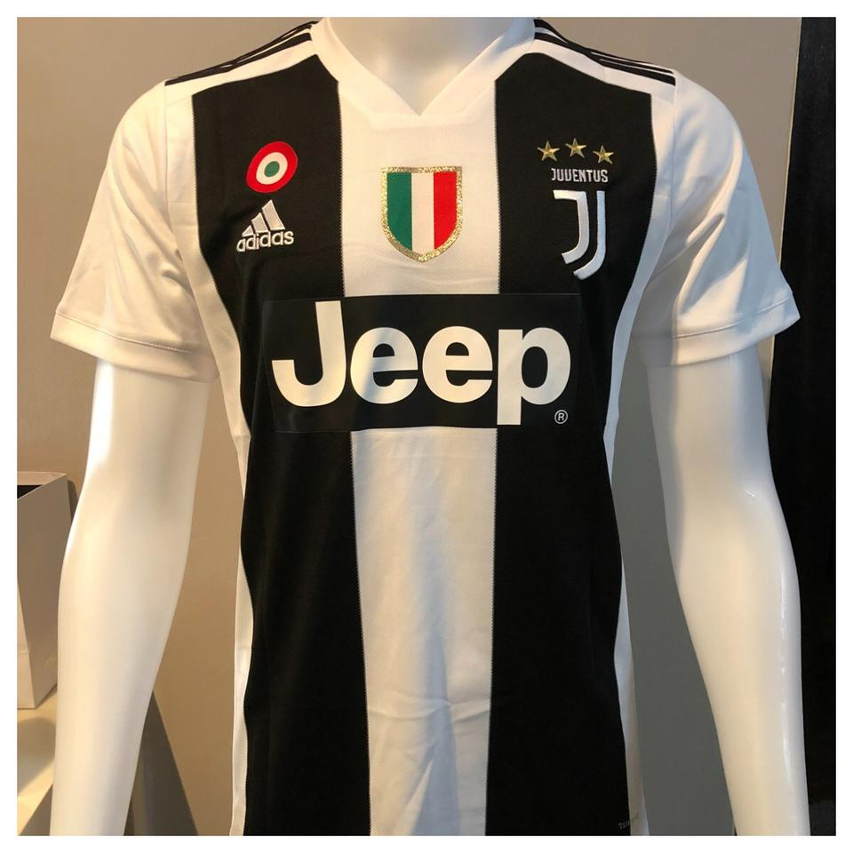 f4228ba66 ... Original Juventus Premium Home Jersey and Shorts Optional  2018-19  (With Italia ...