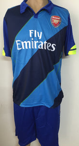 Arsenal Away Football Jersey and Shorts