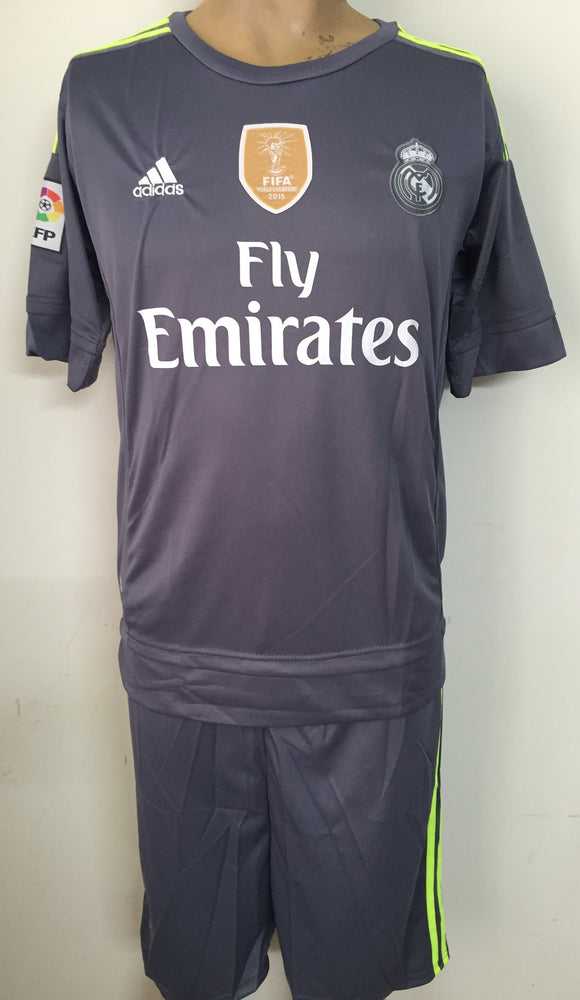 FC Real Madrid Away Football Jersey and Shorts 2015-16