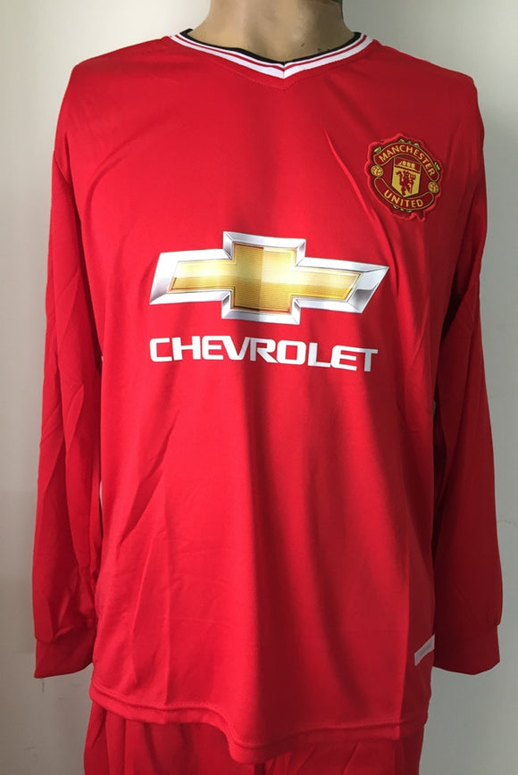 Manchester United Home Full Sleeves Football Jersey 2015-16