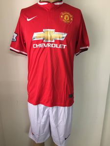 Manchester United Home Football Jersey and Shorts