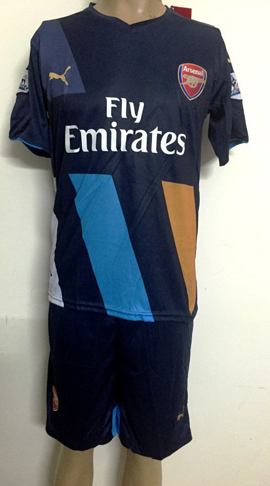 Arsenal 3rd kit Football Jersey and Shorts 2015-16