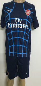 Arsenal Spider Web Football Jersey and Shorts
