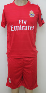 Real Madrid Away Football Jersey and Shorts