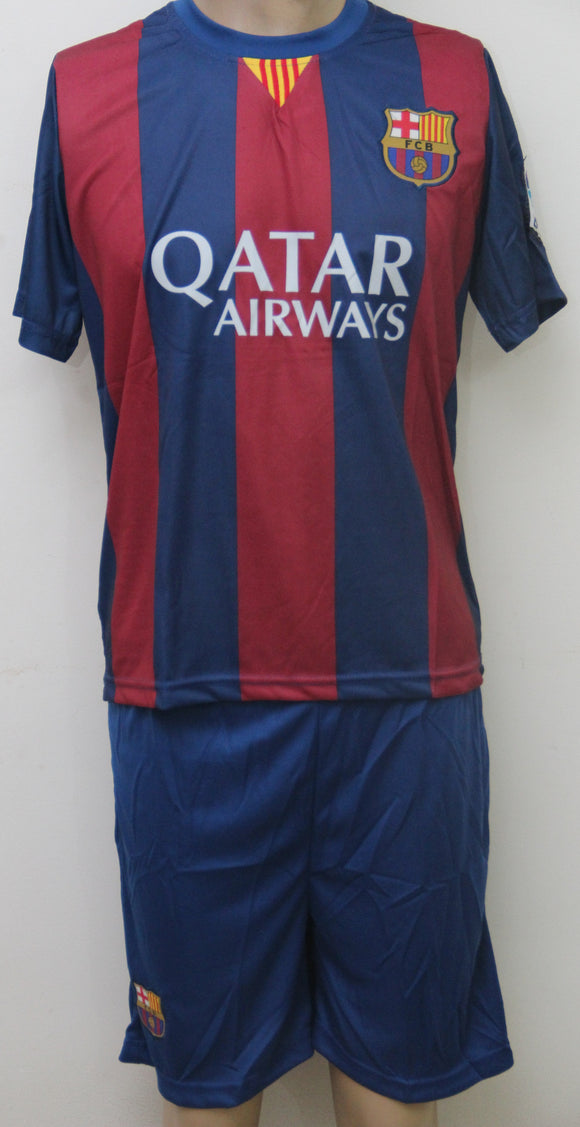 FC Barcelona Football Jersey and Shorts