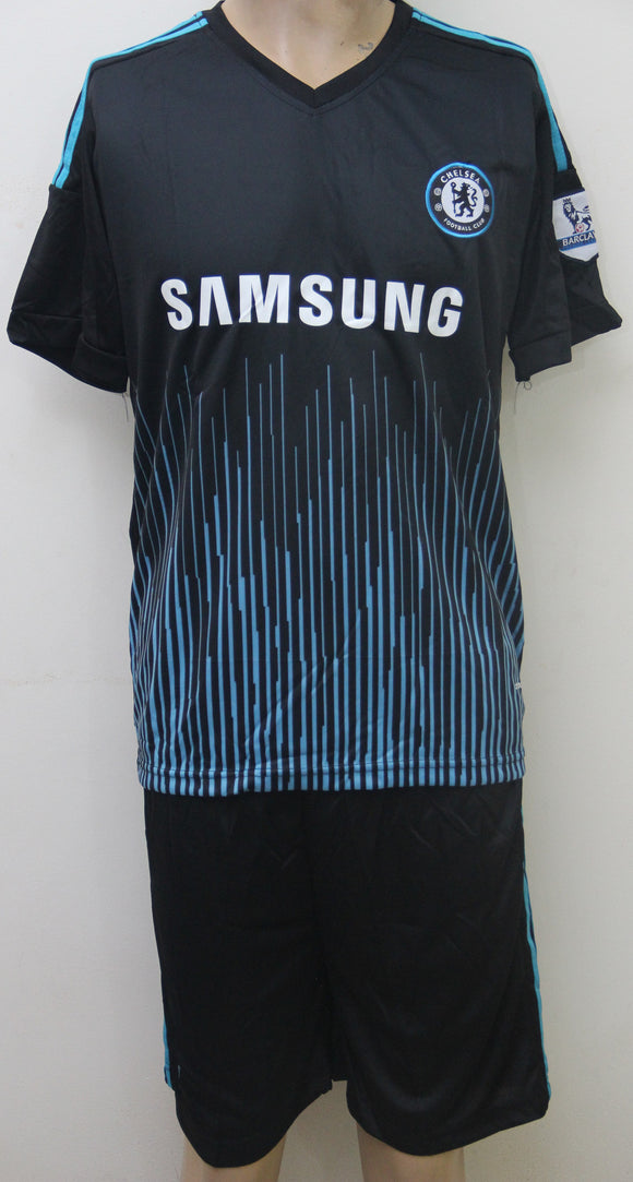 chelsea Training Football Jersey and Shorts