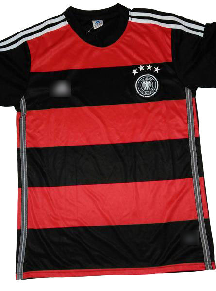 Replica Germany Away WC 2014 Football Jersey