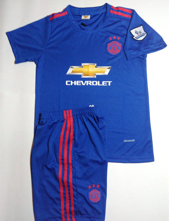 Kids Manchester United Away 2016-17