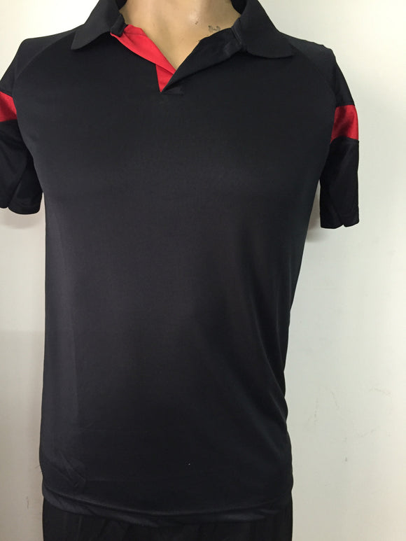 Badminton Black Tshirt