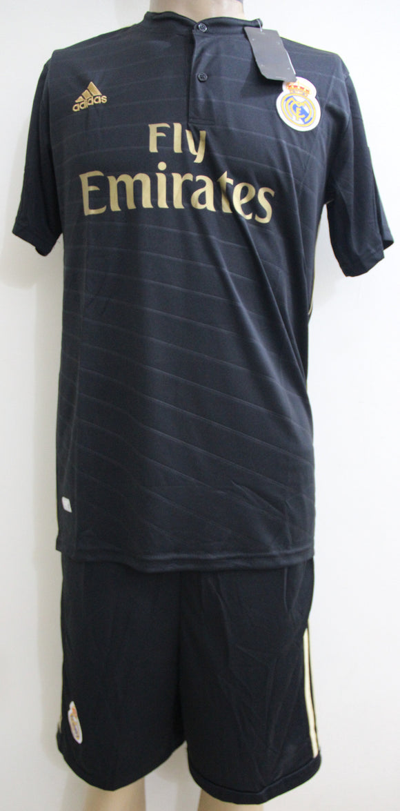 Original Replica Real Madrid Away Football Jersey and Shorts