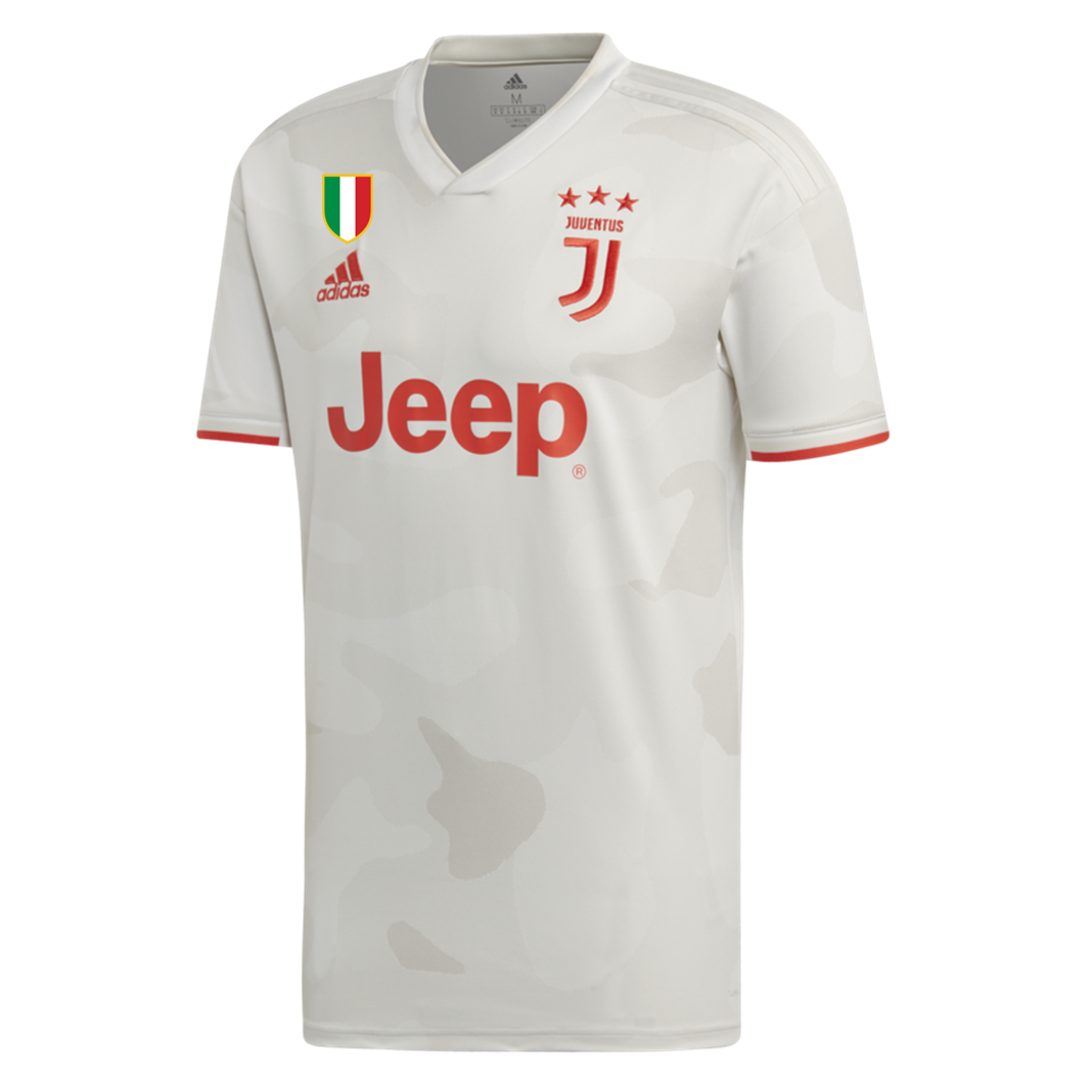 new style f36bc c172a Original Juventus Away Jersey [With Italia Logo] 2019/20 [Superior Quality]