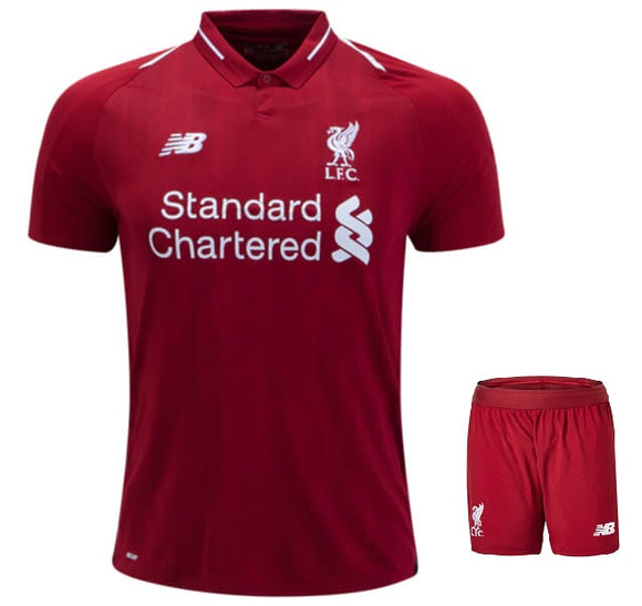 Original Liverpool Premium Home Jersey and Shorts [Optional] 2018-19