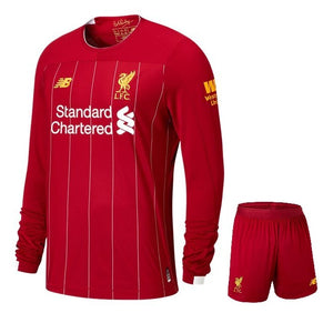 best website d67c2 31284 Original Liverpool Premium Home Full Sleeve Jersey & Shorts [Optional]  2019/20