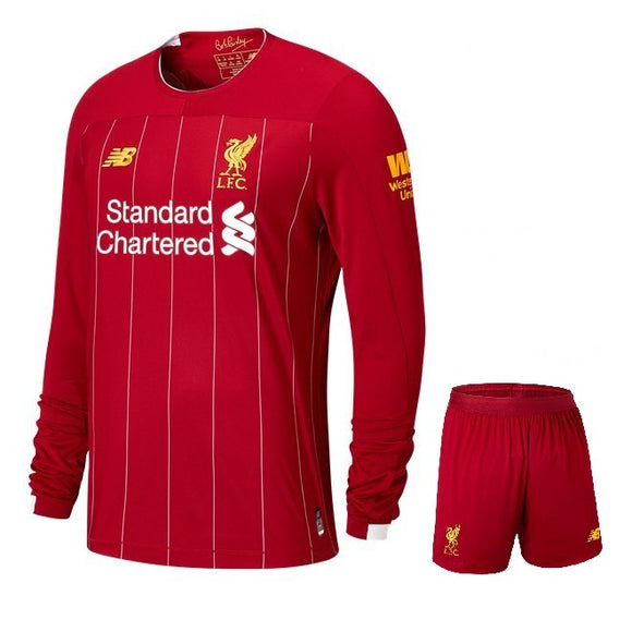 Original Liverpool Premium Home Full Sleeve Jersey & Shorts [Optional] 2019/20