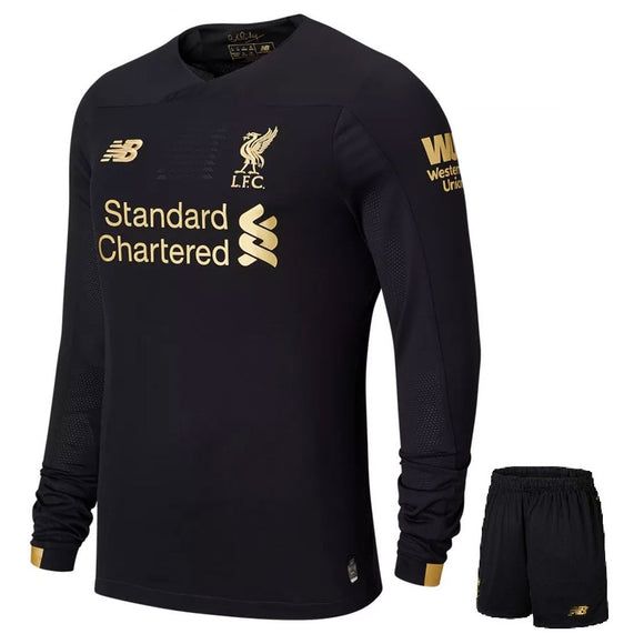 Original Liverpool Goal Keeper Full Sleeves Jersey & Shorts [Optional] 2019/20