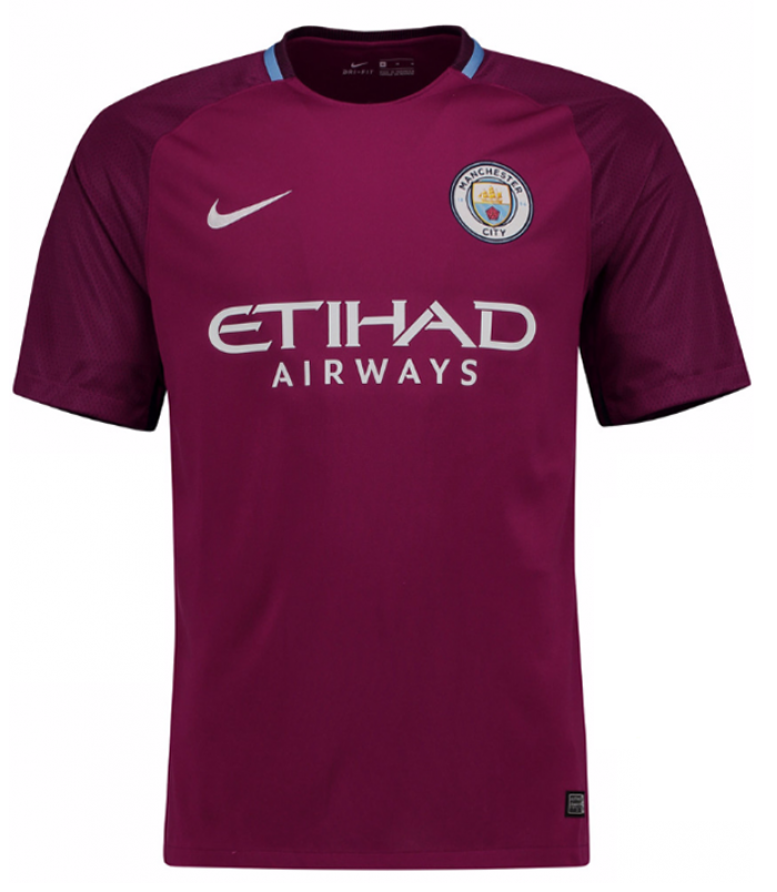 best loved 554c7 b0720 Original Manchester City Premium Away Jersey & Shorts [Optional] 2017-18