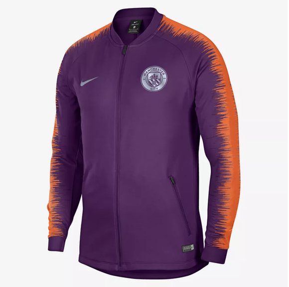 Original Manchester City Premium Zipper Purple 2018-19