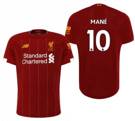 Original Mane Liverpool Champions League Edition Home Jersey 2019/20 [Superior Quality]