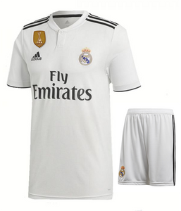 wholesale dealer a28cd 4d9bf Real Madrid Home Football Jersey New Season 2018-19 kit ...