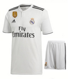 Original Real Madrid Premium Home Jersey & Shorts [Optional] 2018-19