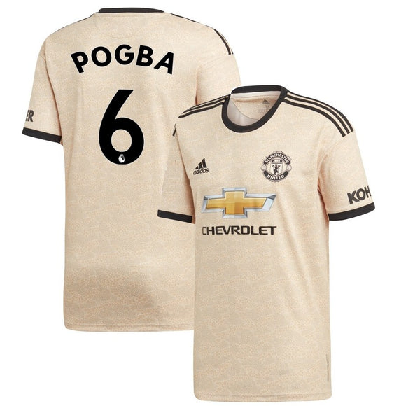 Original Pogba Manchester United Away Jersey 2019/20 [Superior Quality]