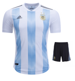Argentina Home Jersey & Shorts FIFA World Cup 2018