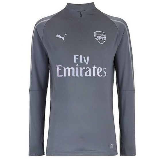 Original Arsenal Premium Track Upper Grey 2018-19