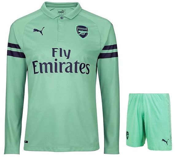 Original Arsenal Premium Full Sleeve 3rd Jersey & Shorts [Optional] 2018-19
