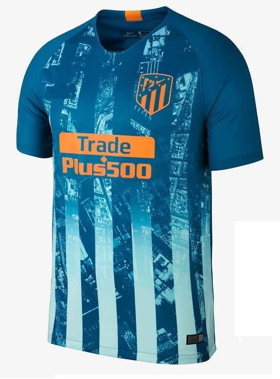 Original Atletico Madrid 3rd Jersey 2018-19 [Superior Quality ]