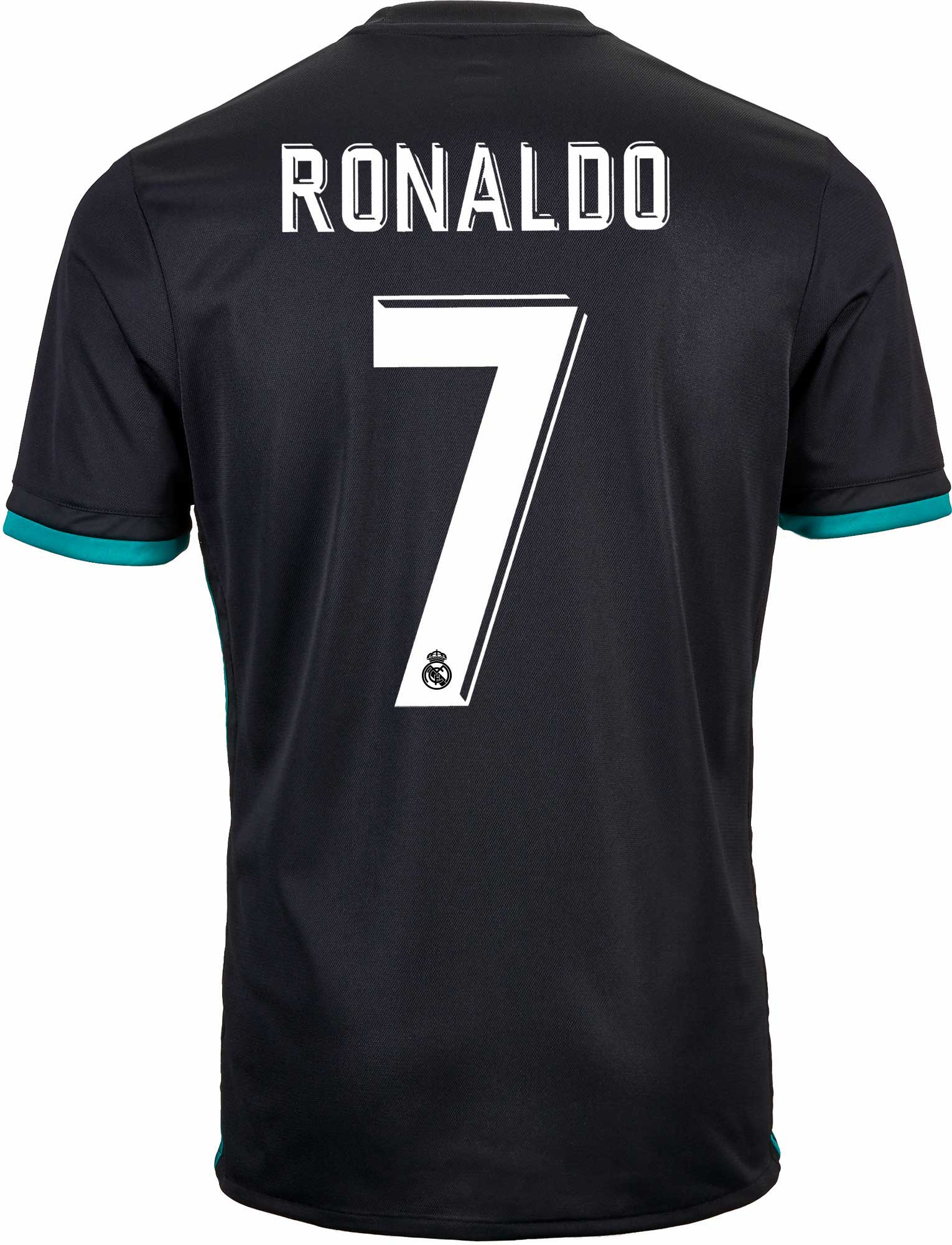 best cheap b6994 bc7ab Original Ronaldo Real Madrid Premium Away Jersey and Shorts [Optional] 17-18