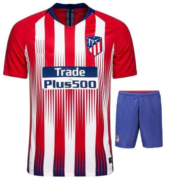 Original Atletico Madrid Premium Home Jersey & Shorts [Optional] 2018-19