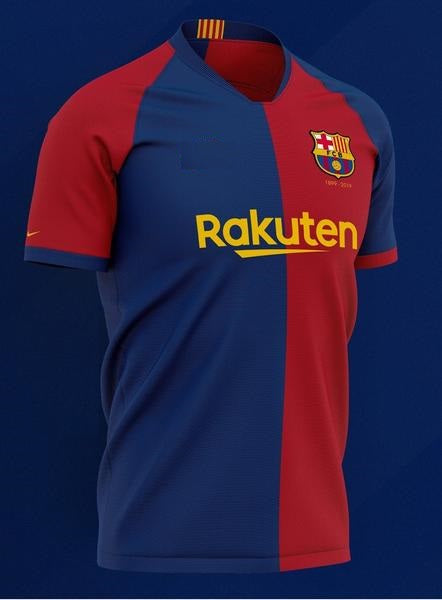 Rare Original Barcelona 120th Anniversary Edition Jersey 2019/20  [Superior Quality]