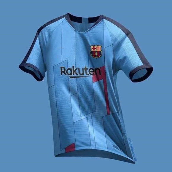 Original Barcelona Sky Blue Special Edition Jersey [Superior Quality]