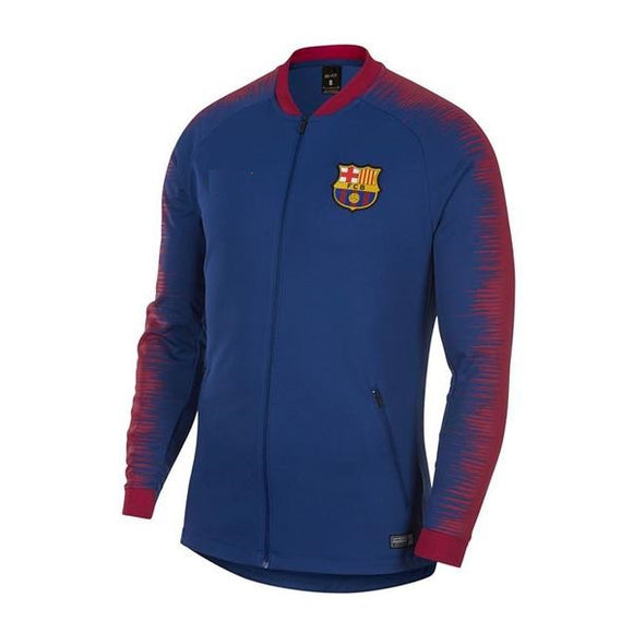 Original Barcelona Premium Zipeer Royal Blue 2018-19