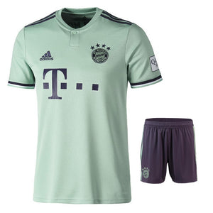 Original Bayern Munich Premium Away Jersey and Shorts [Optional] 2018-19
