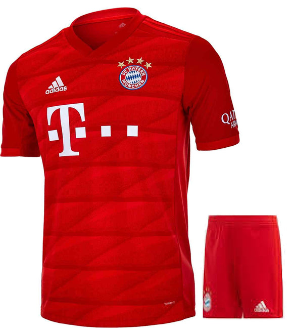 Bayern Munich Home Jersey and Shorts 2019/20