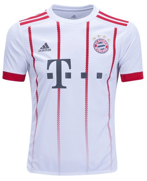 Original Bayern Munich Premium Away Jersey 2017-18