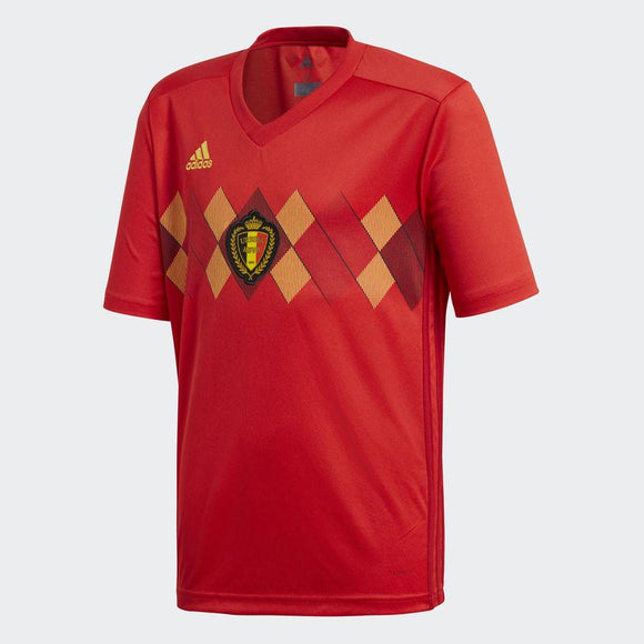 Belgium Home Football Jersey & Shorts FIFA World cup 2018