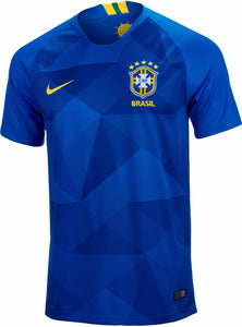 5b87b9c704e Original Brazil Premium Away Jersey   Shorts  Optional  World Cup 2018
