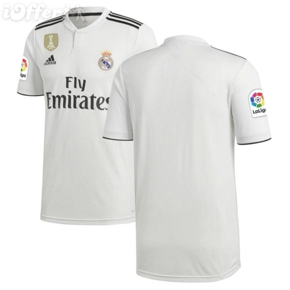 new arrival a0324 d713c Original Real Madrid Premium Home Jersey & Shorts [Optional] 2018-19