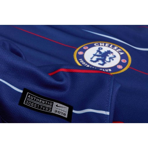 sports shoes f41b8 234f4 Original Chelsea Premium Home Jersey and Shorts [Optional] 2018-19