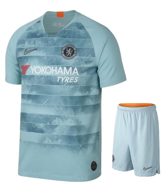 Original Chelsea 3rd Premium Jersey & Shorts [Optional] 2018-19