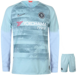 26dcb236410 Original Chelsea 3rd Full Sleeve Premium Jersey and Shorts [Optional] 2018- 19