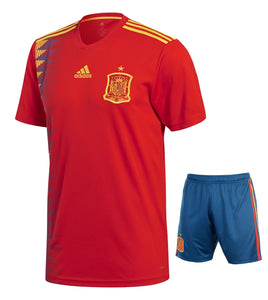 Spain Home Jersey & Shorts FIFA World Cup 2018