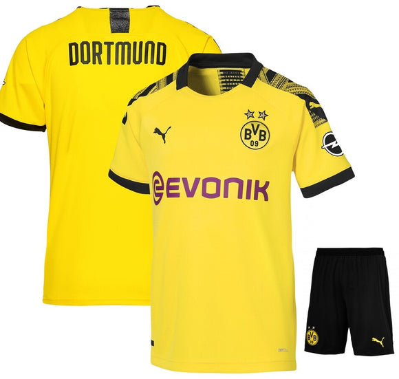 Original Borusia Dortmund Premium Home Jersey & Shorts [Optional] 2019/20
