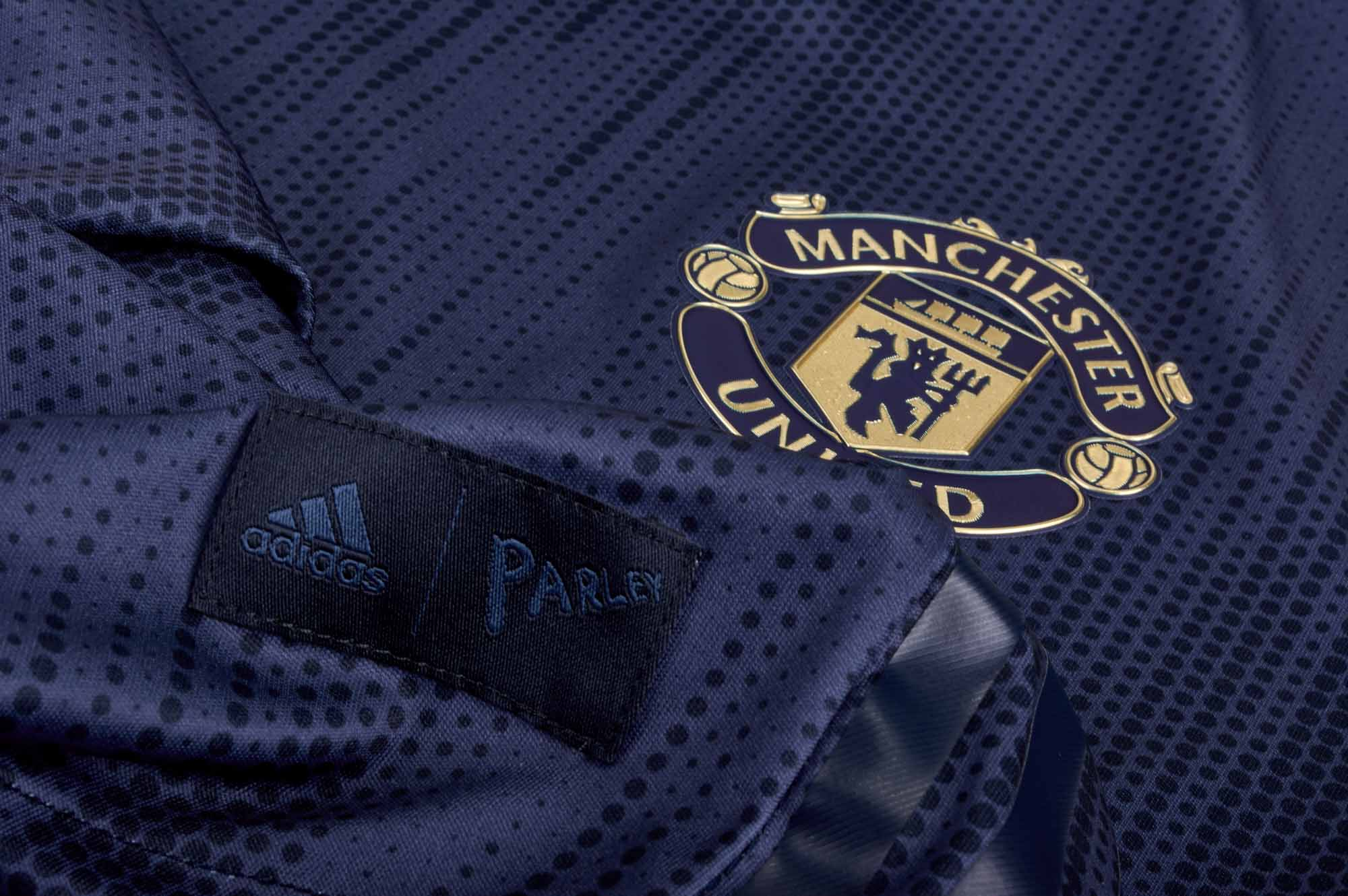 6e6ef7d17 ... Original Manchester United Full Sleeve Premium 3rd Kit Jersey and Shorts   Optional  2018- ...